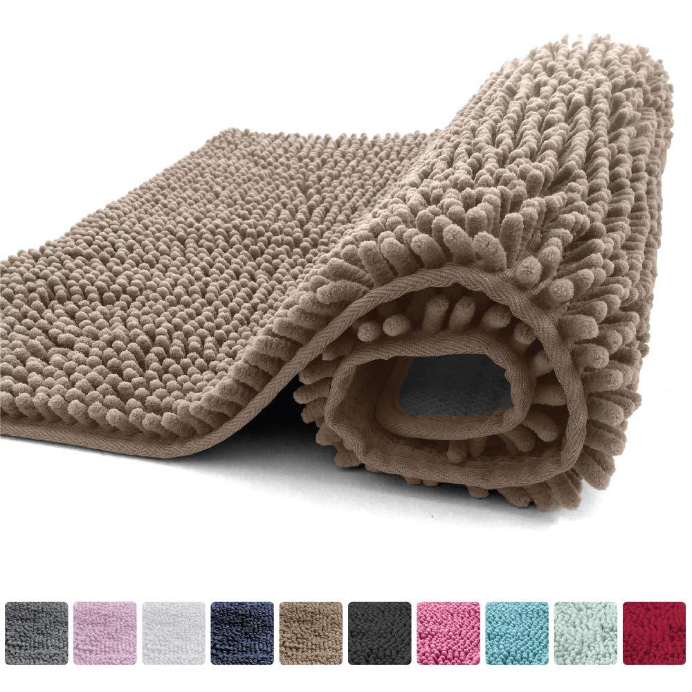 Amazon Com Kangaroo Plush Luxury Chenille Bath Rug 36x24 Extra