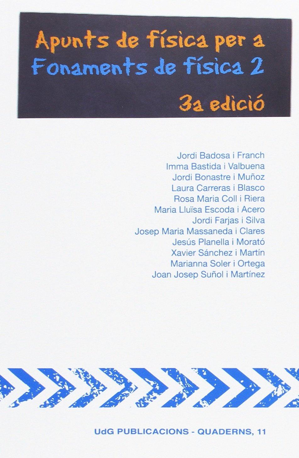 """Download Apunts de física per a """"Fonaments de física 2"""" pdf epub"""