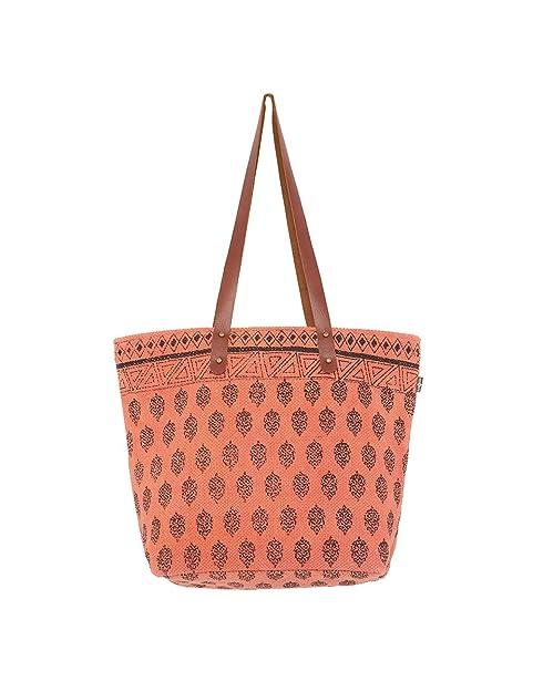 CoralAmazon esZapatos Y Surkana Caicos Complementos Shopper Bolso rWCQBedxo