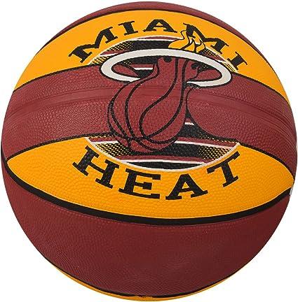 Amazon.com: Spalding NBA Team Miami - Balón de baloncesto de ...