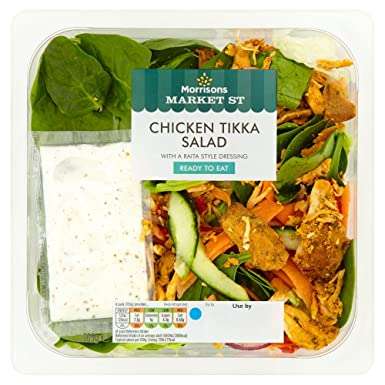 Morrisons Chicken Tikka Salad 165 G Amazoncouk Grocery