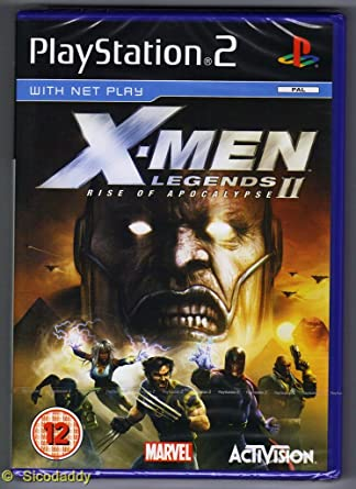 X Men Legends II Rise Of Apocalypse PS2 Amazonin Video Games