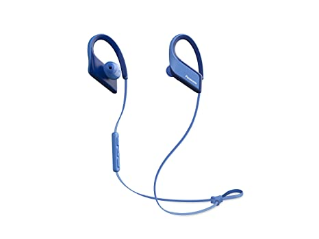 Panasonic Wings Ultra-Light Wireless Bluetooth Sport Earphones Blue (RP-BTS35-A