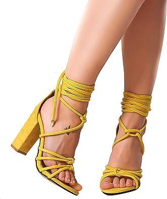 Shoe'N Tale Women's Ankle Lace Up Block