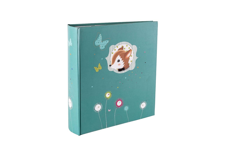 PANODIA 271048 Foxy - Á lbum de fotos tipo libro (200 pá ginas, 10 x 15 cm), diseñ o de conejo, color violeta diseño de conejo