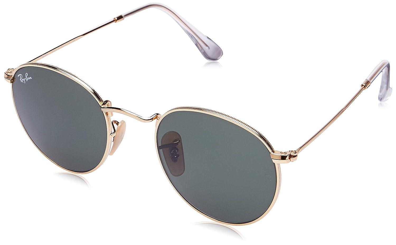 Amazon.com: Ray Ban 0RB3447 - Gafas de sol (metal, redondas ...