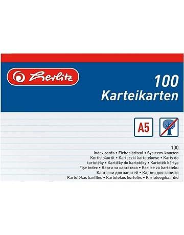 Vokabelkarten Karteikarten Lernkarten DIN A4 A5 A6 A7 A8 blanko Moderationskarte