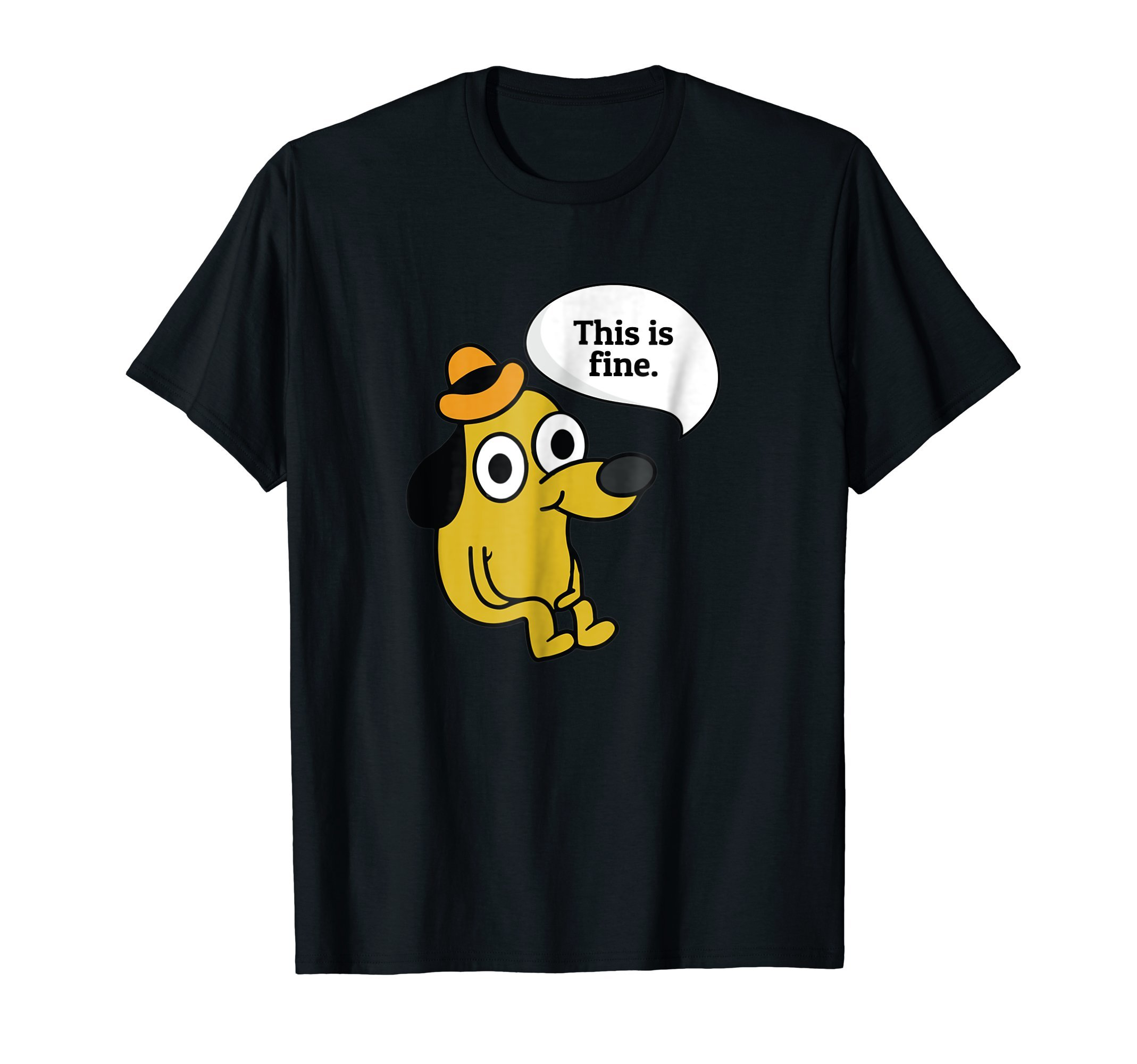 A funny (This is fine) doggo shirt