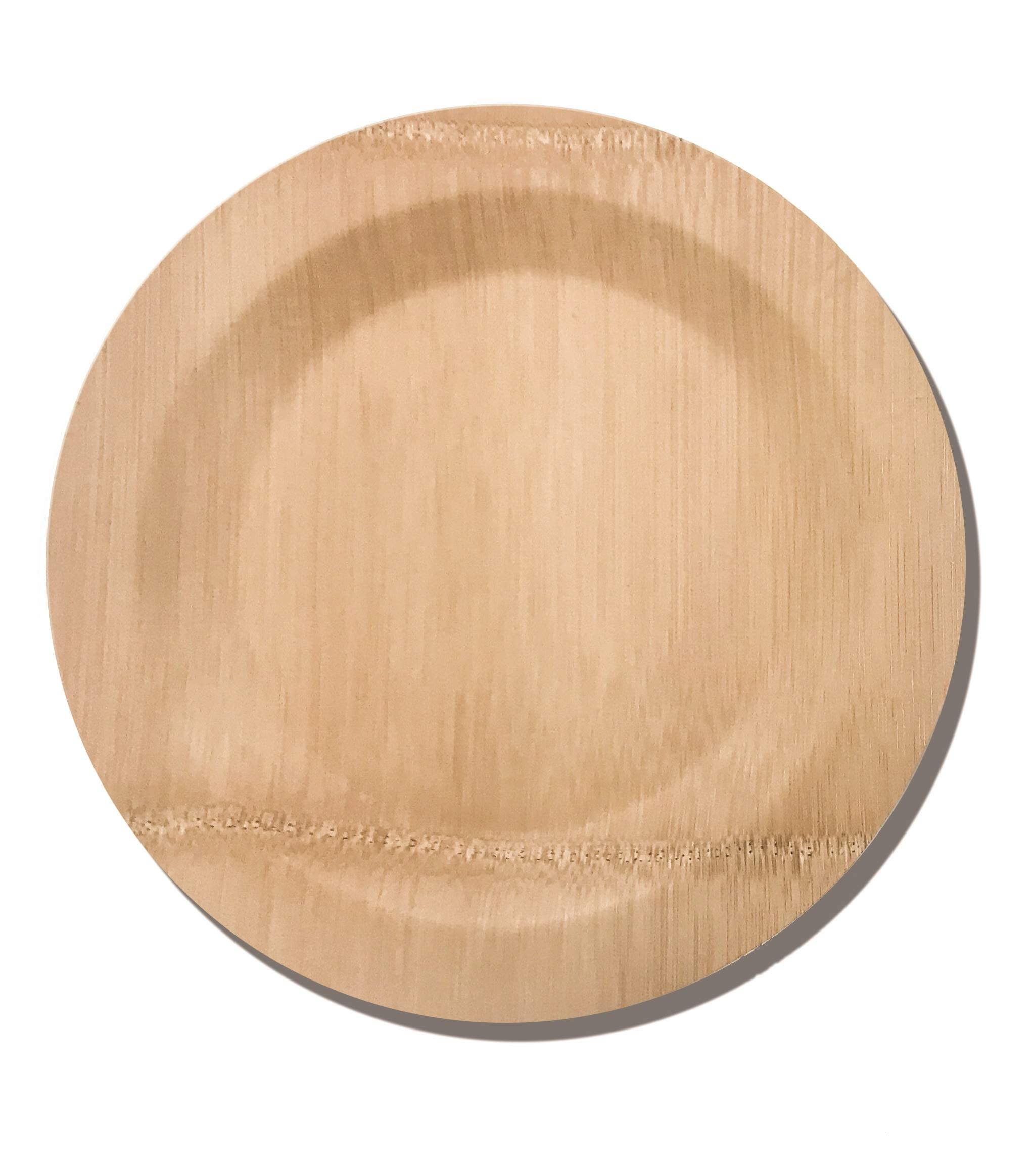 Bamboo Disposable Plates by Bambusa