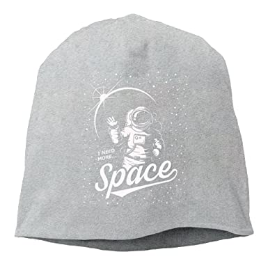 11b34cf90 Fashion Solid Color Astronaut On The Planet Wool Hat For Unisex Ash One Size