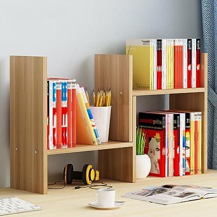 Bookshelf Bookcase Simple And Modern Desktop Creative Storage Rack Home Shelf Child Combination