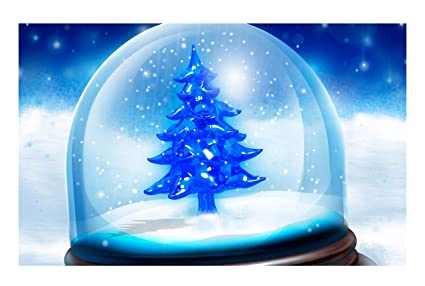 janninse blue christmas tree glass gifts kids merry christmas decoration vertical stripes large door mats - Inside Door Christmas Decorations