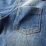 BIG ELEPHANT Boys' 2 Piece Cowboy Long Sleeve Jeans