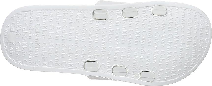Calvin Klein Underwear Slide lencería, Blanco, 43/4 para Mujer: Amazon.es: Ropa y accesorios