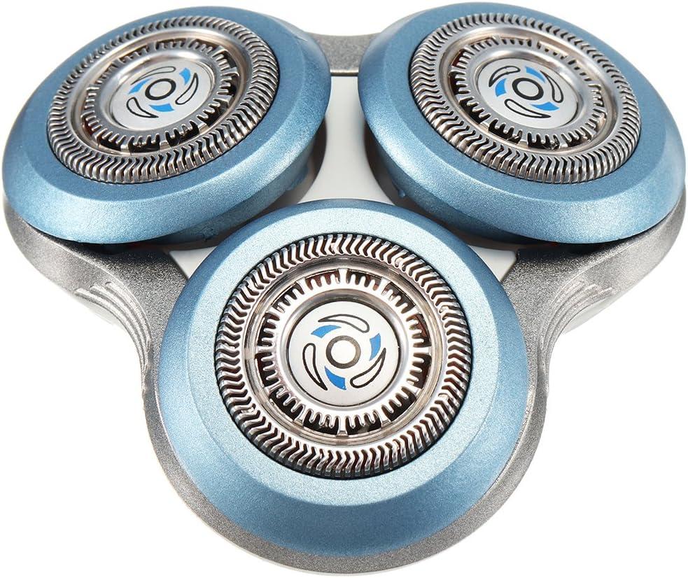 Bluelover Cabezal De Afeitar De Repuesto para Philips Sh90/52 Sh70/52 9000 7000 Afeitadora Afeitadora: Amazon.es: Hogar