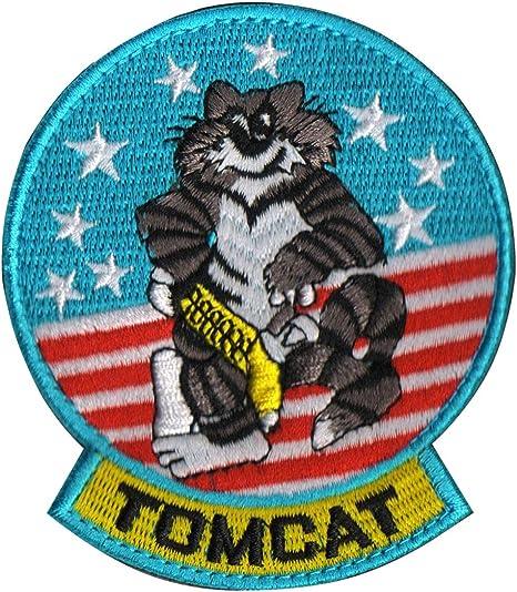 Top Gun US, parche bordado de aviador de la fuerza aérea militar ...