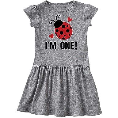9797e0bd9 Amazon.com: inktastic - 1st Birthday Ladybug 1 Year Old Infant Dress 33746:  Clothing