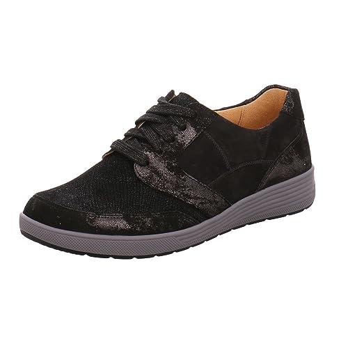 Ganter 4-208143-0199 - Zapatos de Cordones de Piel para Mujer ... a0d61c74fefc7