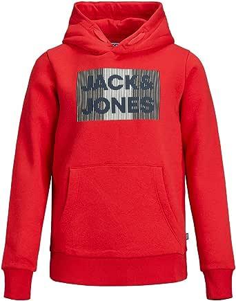 Jack & Jones Junior Jjecorp Logo Sweat Hood Noos Jr Sudadera con Capucha para Niños