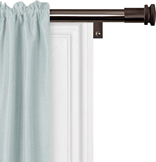 product image for Zenna Home Easy Install Window Rods, 48 to 120 inches, Oil Rubbed Bronze