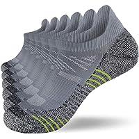 Fioboc Sneakersokken voor heren en dames, 6 paar, hardlopen, korte sportsokken, low cut, trainer, halfsokken…