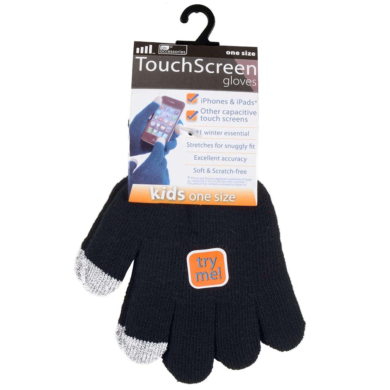a maglia Guanti da donna per touch screen RJM