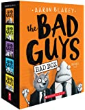 The Bad Guys Box Set: The Bad Guys / The Bad Guys in Mission Unpluckable / The Bad Guys in the Furball Strikes Back / The Bad Guys in Attack of the Zittens / The Bad Guys in Interstellar Gas