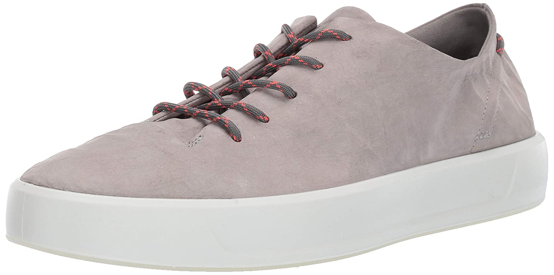 Wild Dove Dyneema Leather ECCO Mens Soft 8 Tie Sneaker