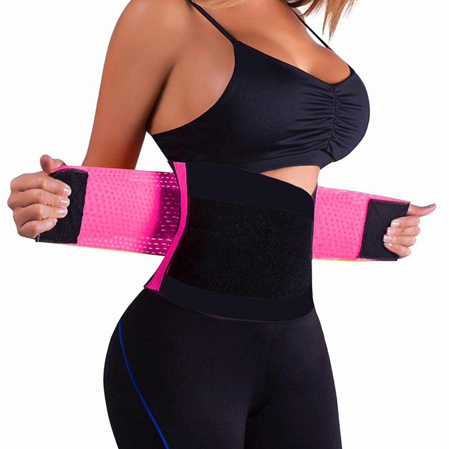 NB Women's Waist Trainer Belt-Waist Cincher Trimmer-Sport Training Girdle and Slimming Body Shaper Belt-Postpartum Girdle