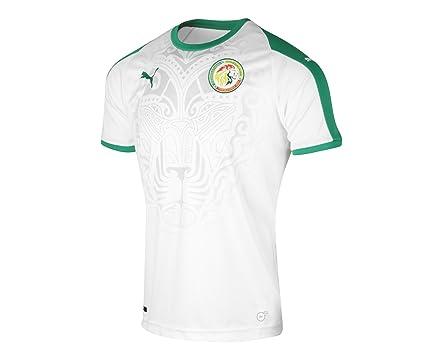 bad748efab Amazon.com   PUMA 2018-2019 Senegal Home Football Soccer T-Shirt ...
