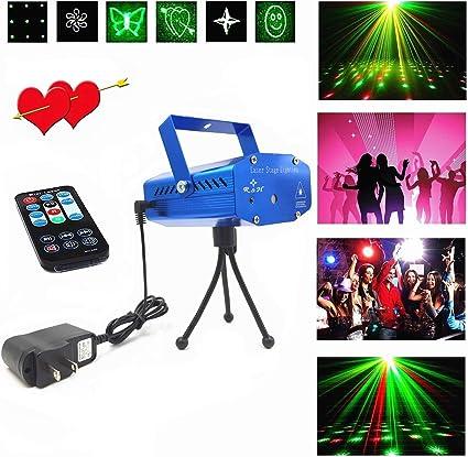 Amazon.com: Luces LED para escenario, proyector LED, Club Dj ...