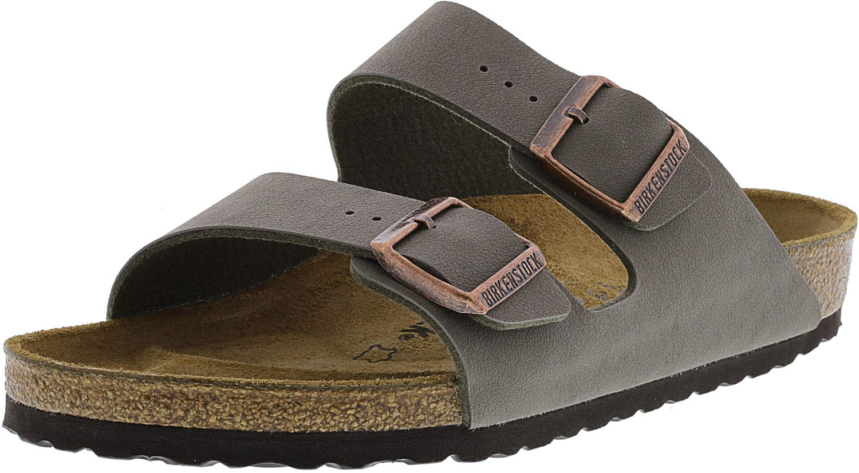 Birkenstock Arizona Stone Birkibuc Sandal 40 R (US Women's 9-9.5) by Birkenstock