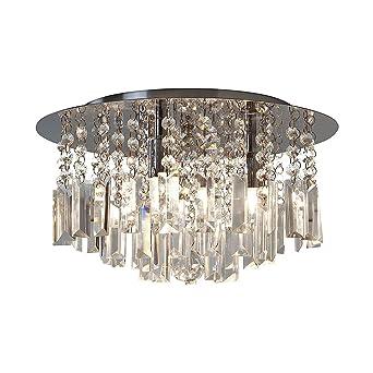 astro evros 7190 bathroom bedroom halogen crystal ceiling light 3 x 33w g9 chrome astro lighting evros light crystal bathroom