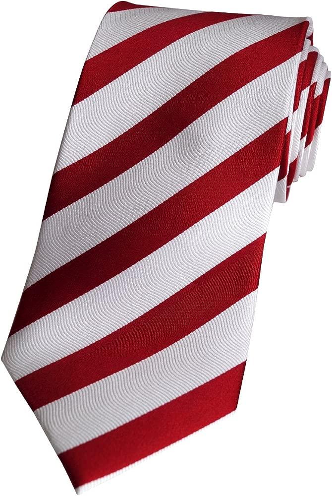 Corbata de seda BEYTNUR rojo/blanco modelo K 44, 4Beytnur Para ...
