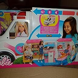 Amazon.es: Barbie Ambulancia Hospital 2 en 1, accesorios de ...