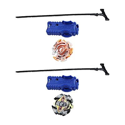 Beyblade Burst 2-Pack Value Starter Pack Ifritor I2 and Zeutron Z2: Toys & Games