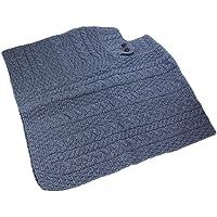 Carraig Donn 100% Irish Merino Wool Ladies Poncho (One Size)