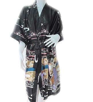 Las mujeres más noble chino tradicional Mujer Pijama albornoz pijamas japonés mujeres Yukata & cinturón (