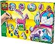 SES - 01155 - Loisir Créatif - Kit de création Mouler et Peindre - 12 chevaux