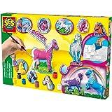 SES 01155 - Loisir Créatif - Kit de création Mouler et Peindre - 12 chevaux