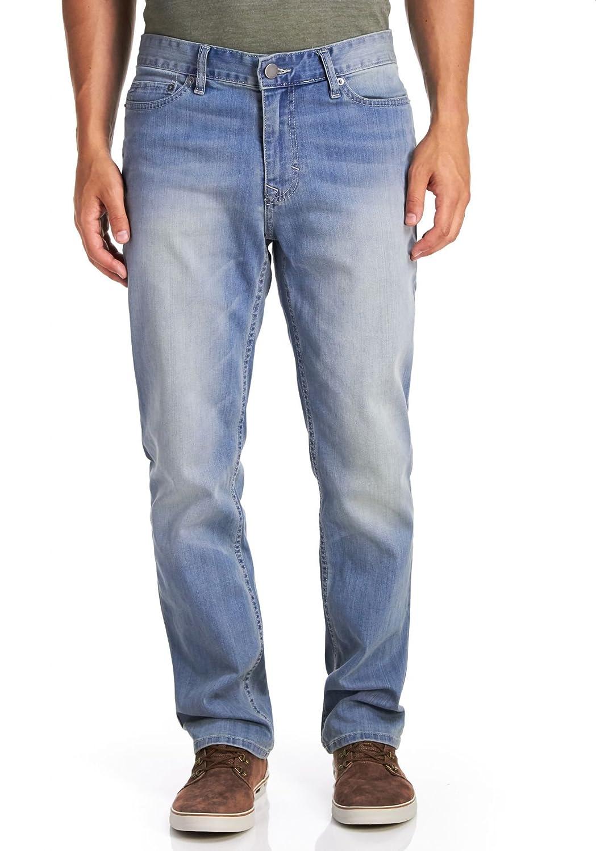 e2a00193a17 Calvin Klein Men's Straight Basic Denim - Silver Bullet, Silver Bullet,  30X32 at Amazon Men's Clothing store: