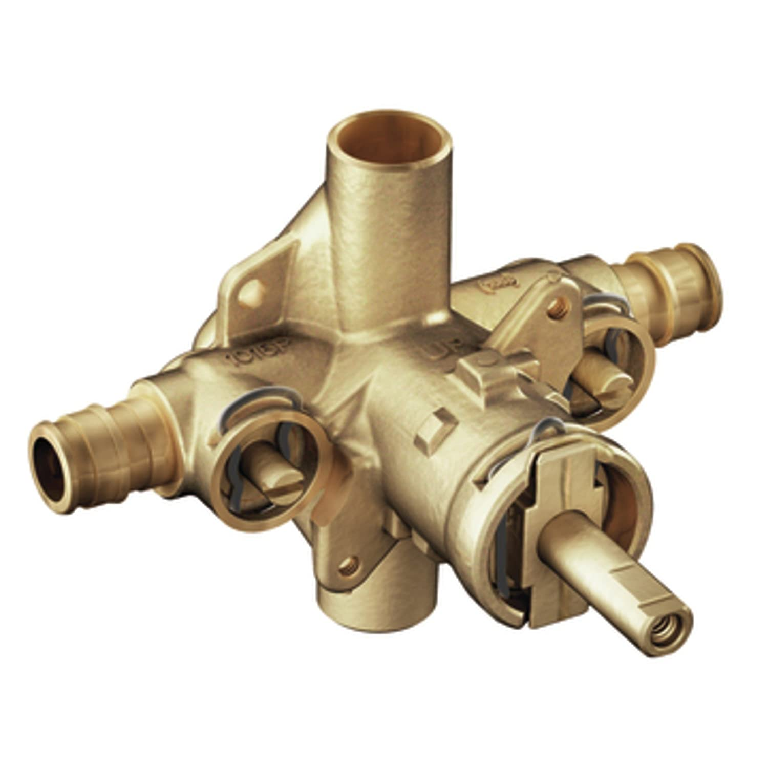 Moen 8375HD Commercial M-DURA Brass Posi-Temp Rough-In Valve with 1 ...