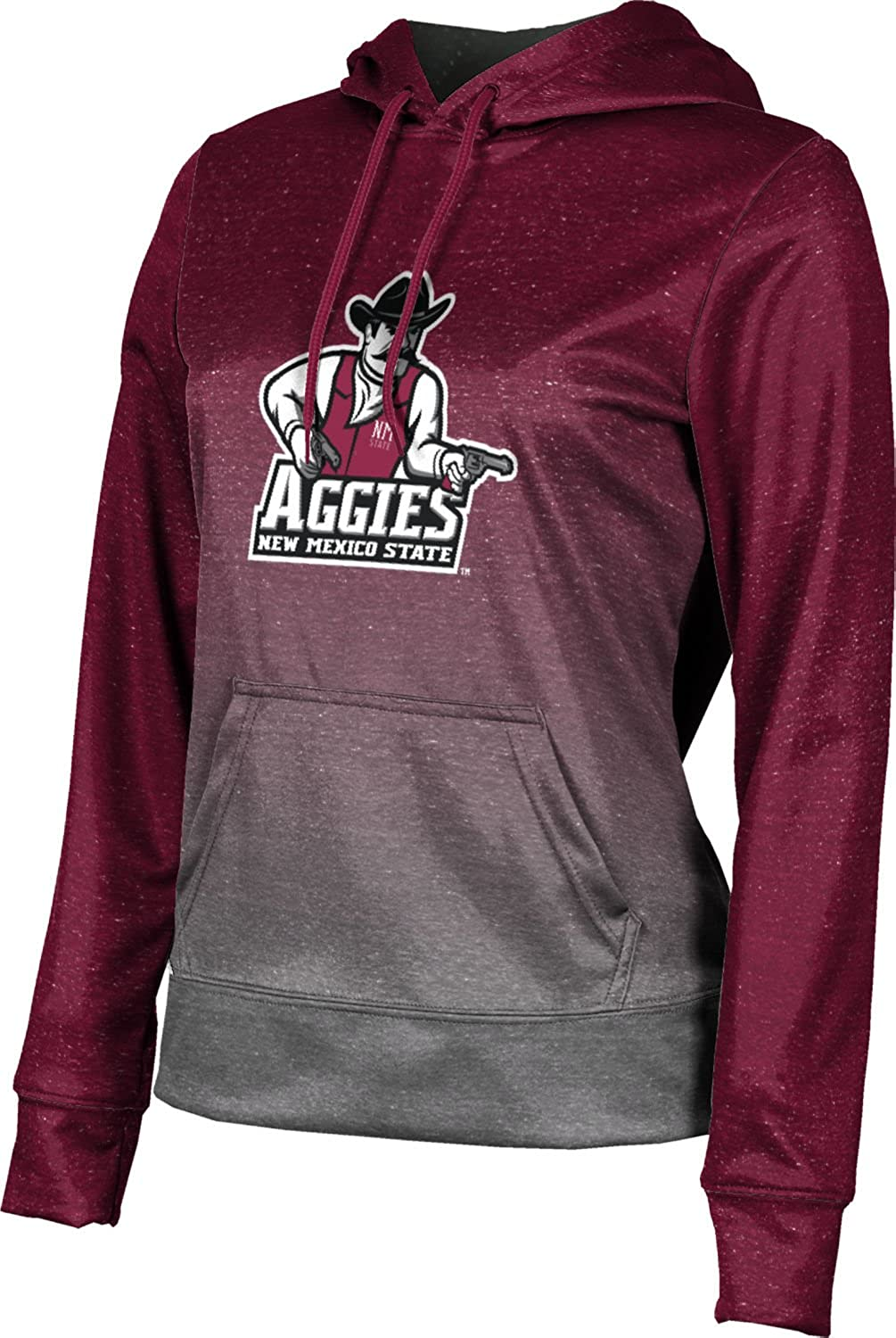 ProSphere New Mexico State University Girls Pullover Hoodie Ombre School Spirit Sweatshirt