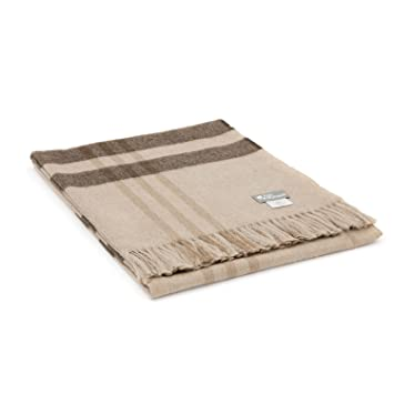 Kuschelige Baby Alpaka Decke in 10 Farben - 100% Alpakawolle ...