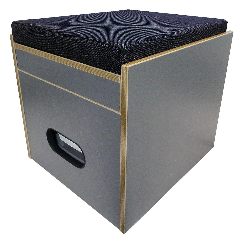 Ba/ños taburete Porta Potti 145//345/Incluye acolchado azul sin inodoro