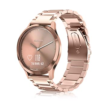 Fintie Bracelet pour Garmin Vivoactive 3 / Vivomove HR/Vivoactive 3 Music/Forerunner 645