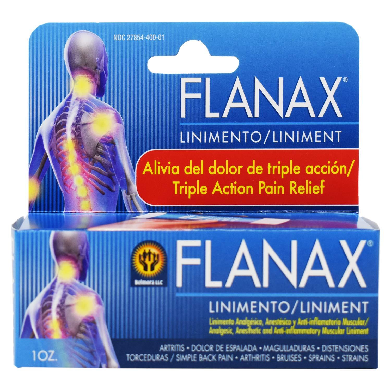 Flanax Pain Relief Cream 1oZ