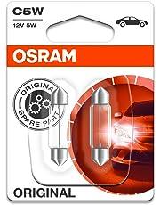 Osram ORIGINAL Innenbeleuchtung C5W, 6418-02B, 12V, Doppelblister