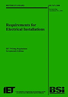 buy iee wiring regulations bs 7671 2008 standards and rh amazon in 17th edition wiring regulations book 17th edition wiring regulations book amazon