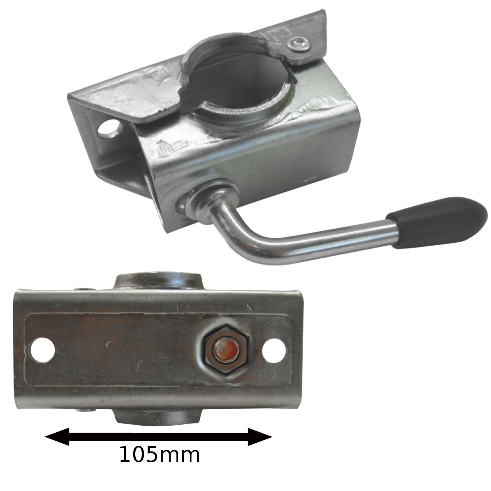 AB Tools-Maypole 42mm Clamp for Jockey Wheel/Prop Stand TR023 by AB Tools-Maypole